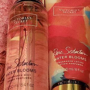 Sale!! VS lotion and spray pure seduction set